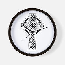 Celtic Knot Cross Wall Clock