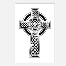 Celtic Knot Cross Postcards (Package of 8)