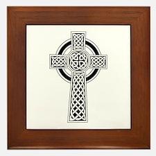 Celtic Knot Cross Framed Tile