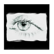 Tired Eye Tile Coaster