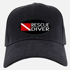 Diving: Diver Flag & Rescue Diver Baseball Hat
