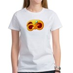 Fiery Maya Jaguar Claw Women's T-Shirt