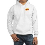 Fiery Maya Jaguar Claw Hooded Sweatshirt