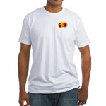 Fiery Maya Jaguar Claw Fitted T-Shirt