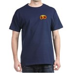 Fiery Maya Jaguar Claw Dark T-Shirt