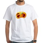 Fiery Maya Jaguar Claw White T-Shirt