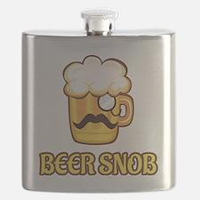 Cute Beer snob Flask