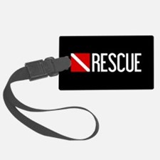 Diving: Diving Flag & Rescue Luggage Tag