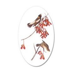 Rice Bunting Audubon Vintage Wall Decal