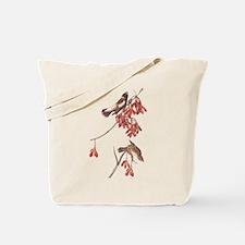 Rice Bunting Audubon Vintage Bookplate Tote Bag