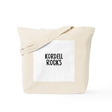 Kordell Rocks Tote Bag