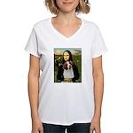 Mona / Brittany S Women's V-Neck T-Shirt