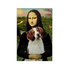 Mona / Brittany S Rectangle Magnet