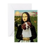 Mona / Brittany S Greeting Card