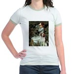 Ophelia /Brittany S Jr. Ringer T-Shirt