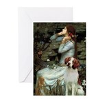Ophelia /Brittany S Greeting Cards (Pk of 20)