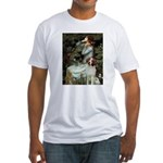 Ophelia /Brittany S Fitted T-Shirt