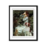 Ophelia /Brittany S Framed Panel Print