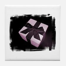 The Gift (Purple) Tile Coaster