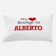 My heart belongs to Alberto Pillow Case