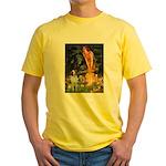 Fairies / Brittany S Yellow T-Shirt