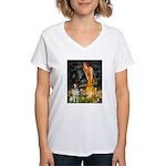 Fairies / Brittany S Women's V-Neck T-Shirt