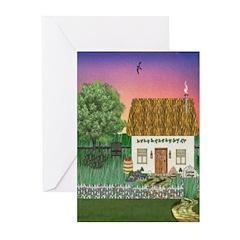 Sunrise Cottage Greeting Cards (Pk of 20)