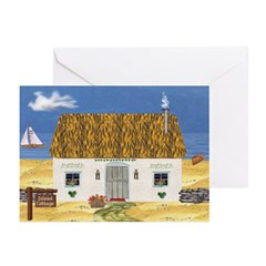 Island Cottage Greeting Cards (Pk of 20)