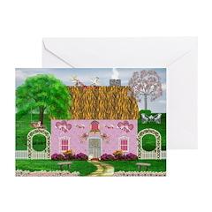 Honeymoon Cottage Greeting Cards (Pk of 20)