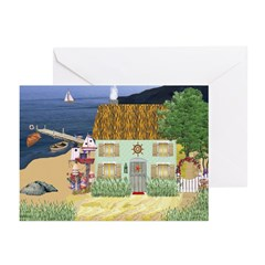 Lakeside Cottage Cards (Pk of 10)