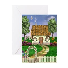 Country Cottage Cards (Pk of 10)