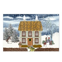Winter Cottage Postcards (Package of 8)