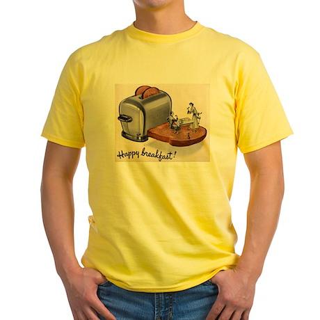Happy Breakfast! Yellow T-Shirt
