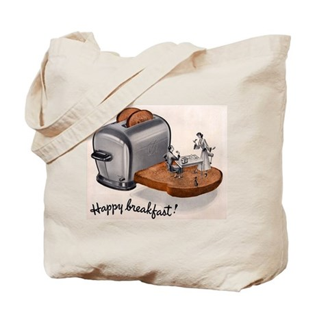 Happy Breakfast! Tote Bag