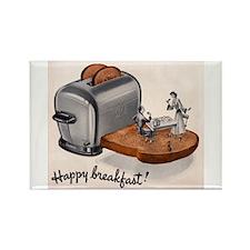 Happy Breakfast! Rectangle Magnet