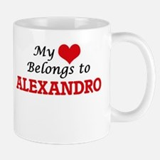My heart belongs to Alexandro Mugs