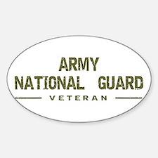 Guard Veteran Oval Decal