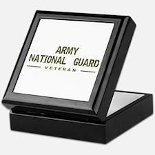 Guard Veteran Keepsake Box