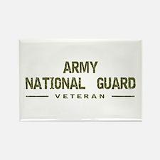 Guard Veteran Rectangle Magnet
