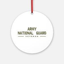 Guard Veteran Ornament (Round)
