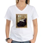 Whistler's /Brittany S Women's V-Neck T-Shirt