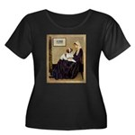 Whistler's /Brittany S Women's Plus Size Scoop Nec
