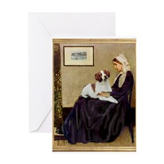 Whistler's /Brittany S Greeting Card