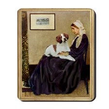 Whistler's /Brittany S Mousepad