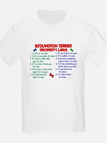 Bedlington Terrier Property Laws 2 T-Shirt