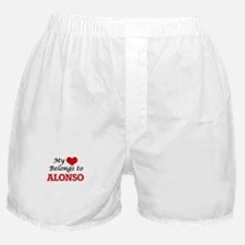 My heart belongs to Alonso Boxer Shorts