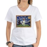 Starry / Brittany S Women's V-Neck T-Shirt