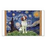 Starry / Brittany S Sticker (Rectangle)