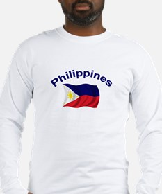 Philippines Flag Long Sleeve T-Shirt