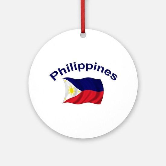 Philippines Flag Keepsake Ornament